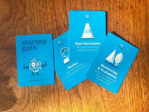 Startup Guts - Blue Cards