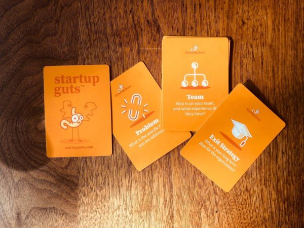 Startup Guts - Orange Cards