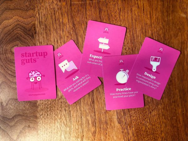 Startup Guts - Pink Cards