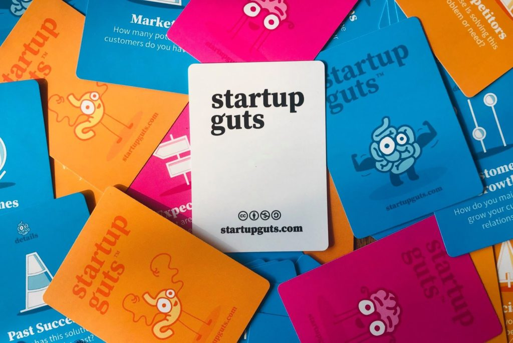 Startup Guts Cards
